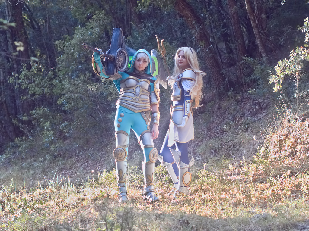 related image - Shooting League of Legends - Riven - Lux - Gold'Senshi - Montrieux - 2017-08-14- P1044356