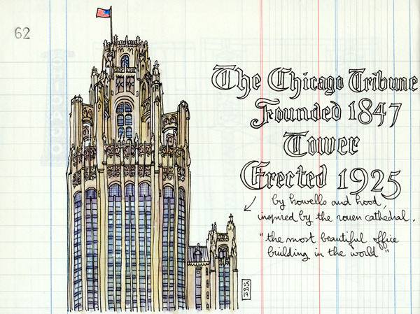 chicgo tribune tower