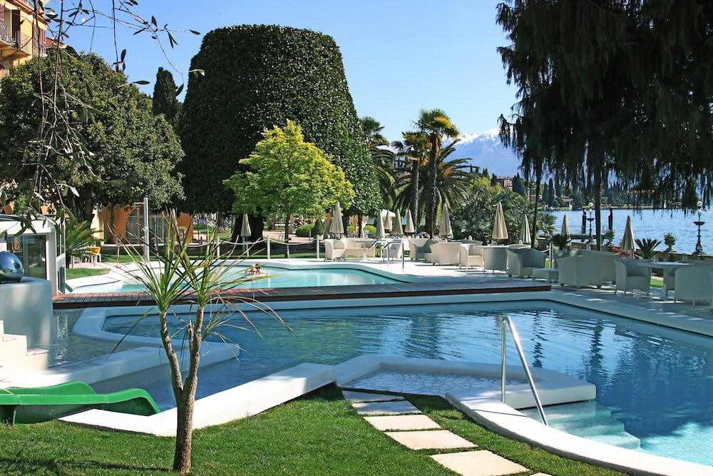 AQVA PARC Pool at Grand Hotel Fasano