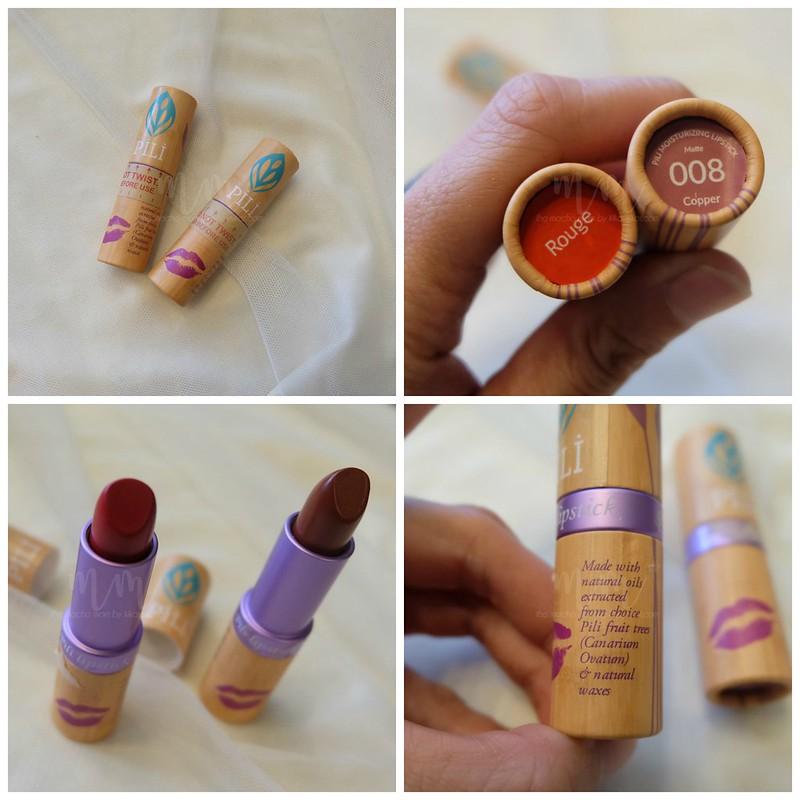 pili beauty lipsticks