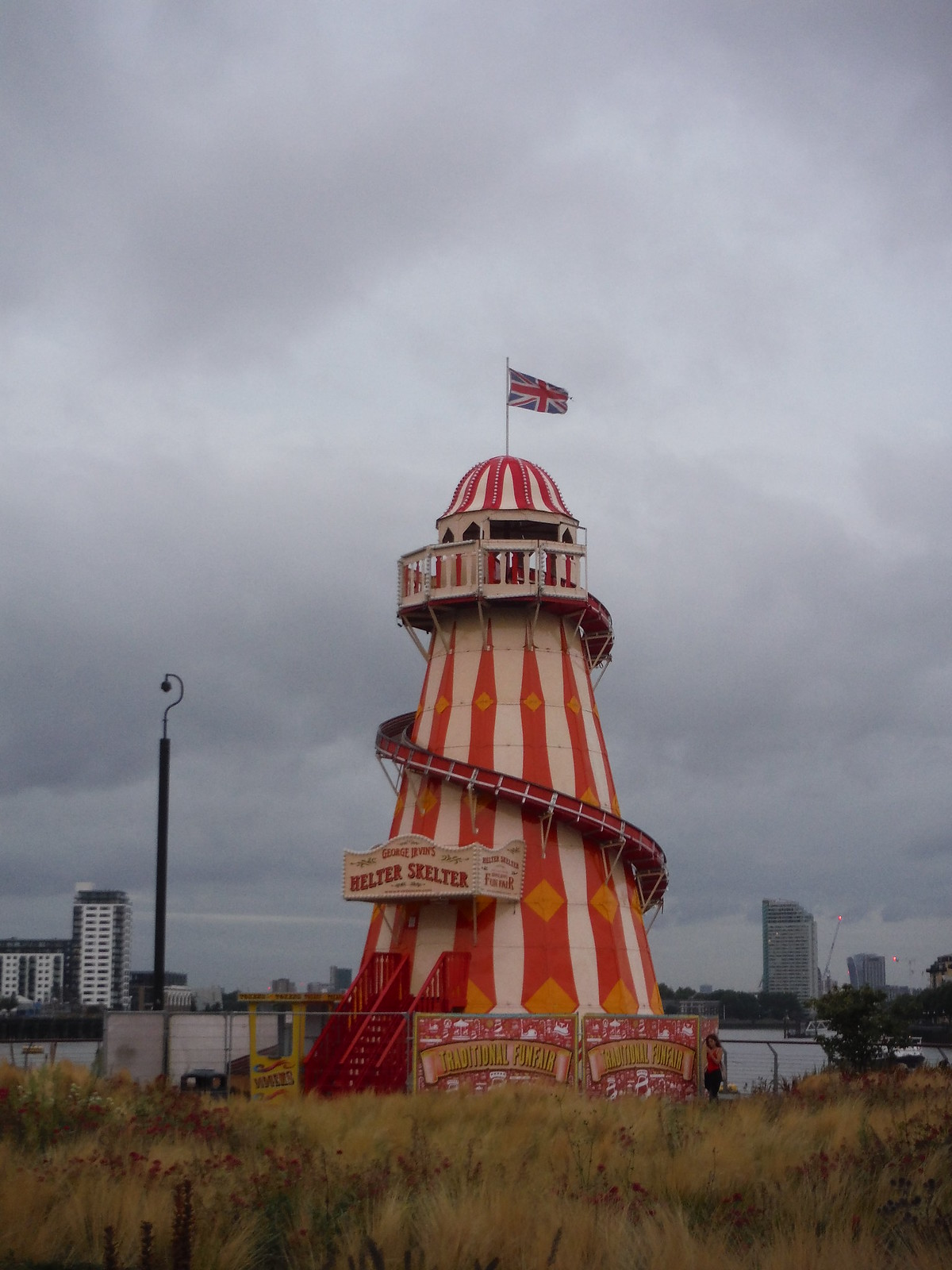 Fancy Tower on the Thames at Greenwich Foottunnel SWC Short Walk 12 - Greenwich Park