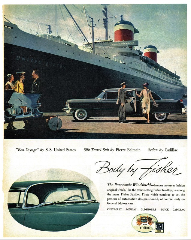 1955 Cadillac Fleetwood Seventy-Five Sedan, Body by Fisher