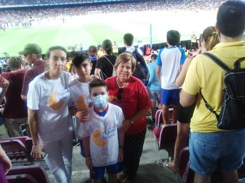 Un día mágico en el Camp Nou