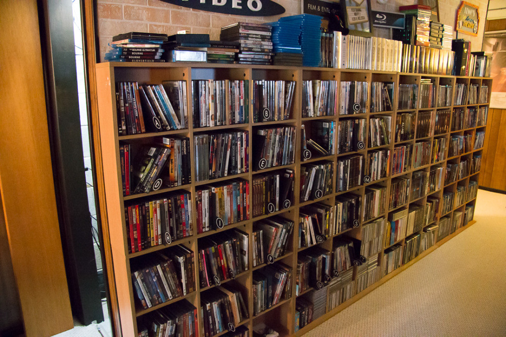 DIY DVD Shelves for Large Collection (Wall mounted shelves)