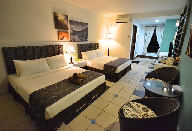 paya beach resort superior chalet