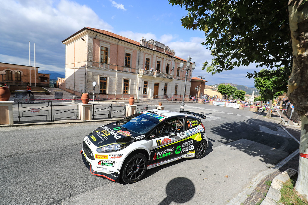 17 CONSANI Stephane (FRA) SALMON Valentin (FRA) Ford Fiesta R5 action during the 2017 European Rally Championship ERC Rally di Roma Capitale,  from september 15 to 17 , at Fiuggi, Italia - Photo Jorge Cunha / DPPI