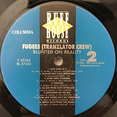 FUGEES:BLUNTED ON REALITY(LABEL SIDE-B)