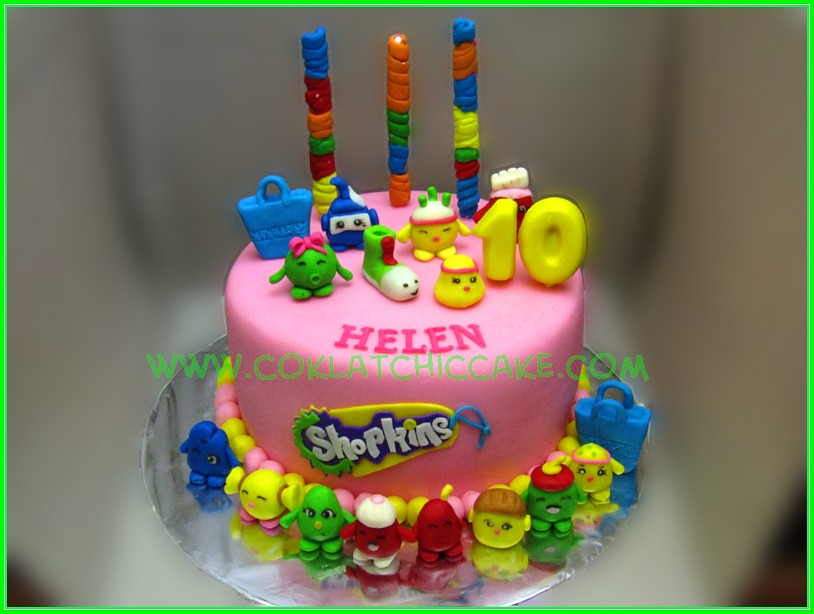 cake shopkins helen