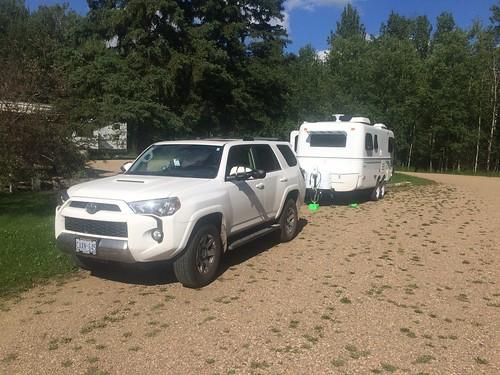 Elk Island campsite