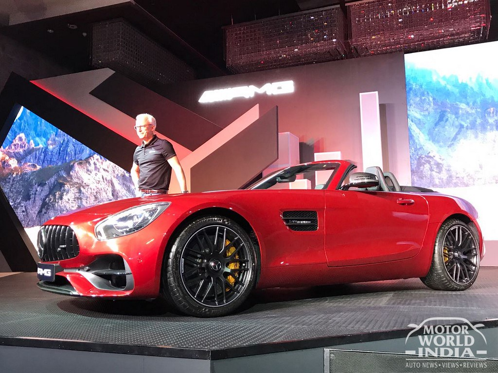 Mercedes-AMG-GTR-GT-Roadster-India-Launch