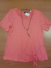 16. 3467 Coral Knotted Shirt 28.95
