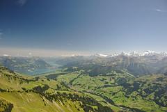 Seen und drei Gipfel