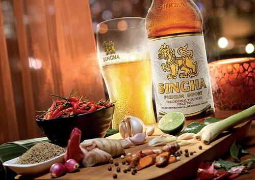 Thailand: Singha. From A Beer Tour of Asia