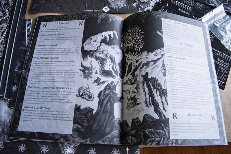 Cave Evil: War Cults - Aeron Alfrey Art Page 2