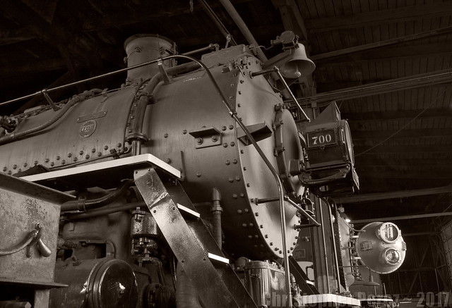 SPS700 ~ Steampower ~ old Brooklyn Roundhouse, Portland, Oregon
