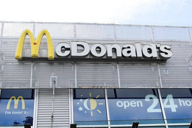 McDonald's 50th Birthday & 67 Cent Hamburgers