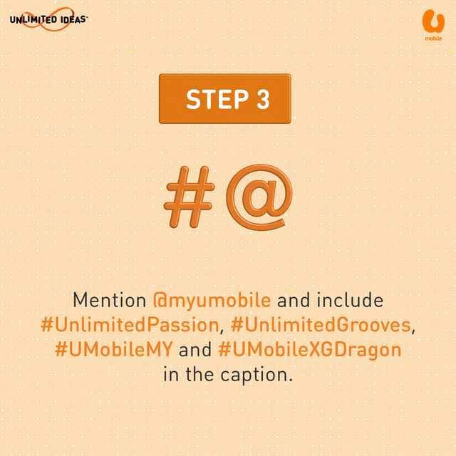 U Mobile G-Dragon Contest - Step 3