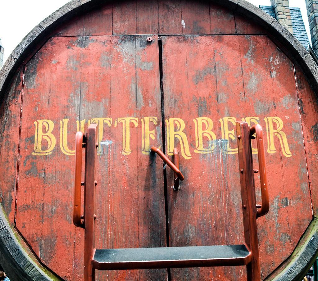 Butterbeer barrell IoA