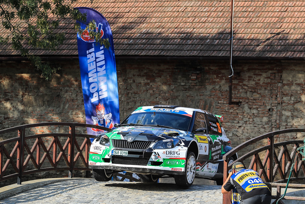 26 TARABUS Jaromir (CZE) MACHU Petr (CZE) Skoda Fabia S2000 action during the 2017 European Rally Championship ERC Barum rally,  from August 25 to 27, at Zlin, Czech Republic - Photo Jorge Cunha / DPPI