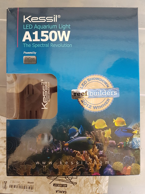 FS: Used Kessil W150, New Aquaclear 50 and others
