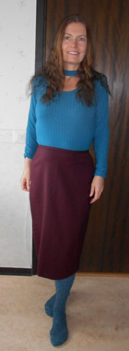 omsydd vinr�d kjol 190923