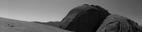 sw bw schwarzweis landschaft landscape paarl rock felsen southafrica