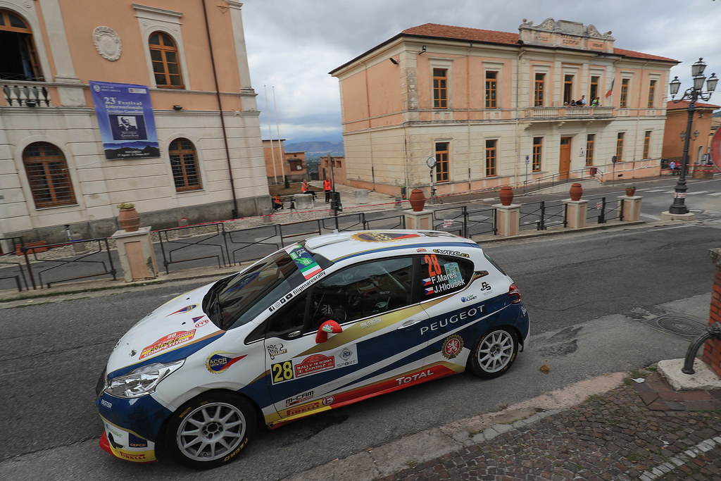 28 MARES Filip (CZE) HLOUSEK Jan (CZE) Peugeot 208 R2 action during the 2017 European Rally Championship ERC Rally di Roma Capitale,  from september 15 to 17 , at Fiuggi, Italia - Photo Jorge Cunha / DPPI