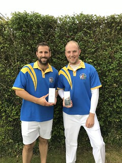Will Parker & Alistair Heyes HCBA pairs runners up