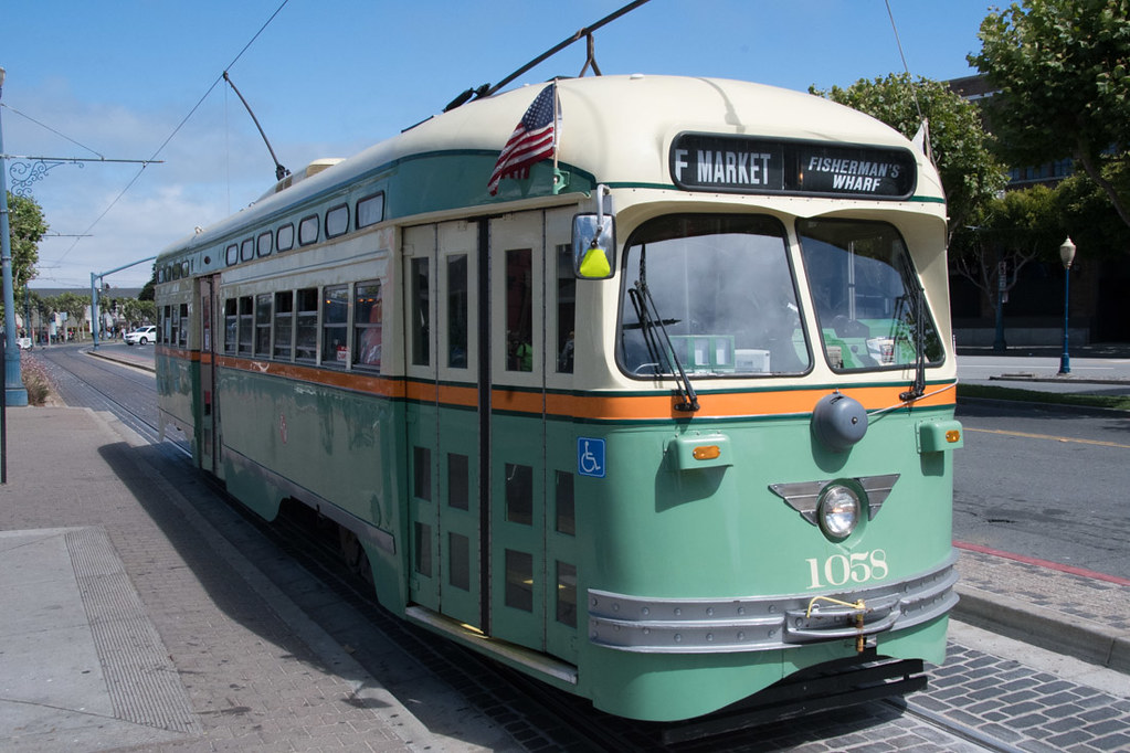 Antique Streetcars in San Francisco