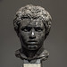 Marble portrait bust of a young African man (1)