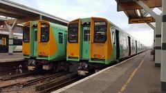 Southern Class 313/3 313203 and 313204 Littlehampton 20/9/17