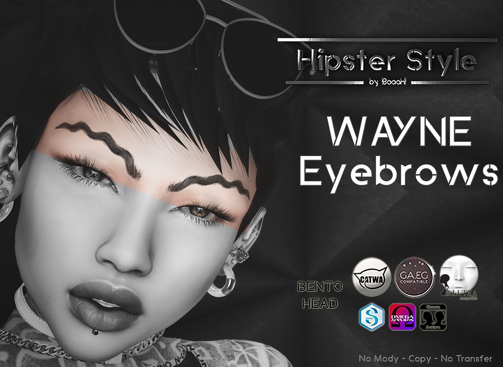 [Hipster Style] Wayne Eyebrows