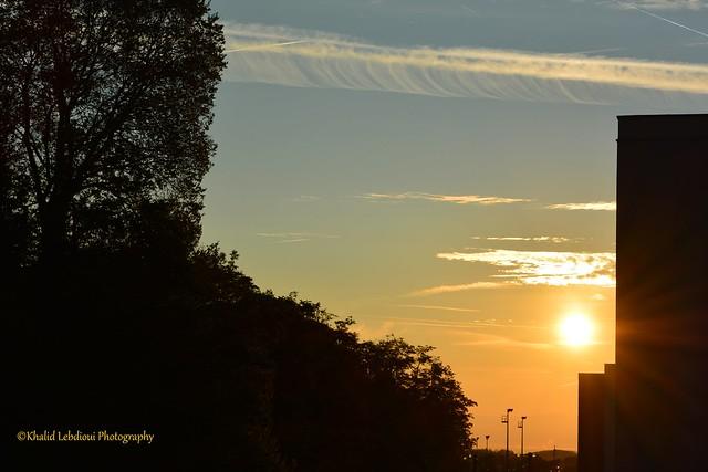 Autumn Sunrise in France