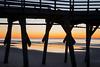 Break of Day Beach Silhouette by matthewkaz