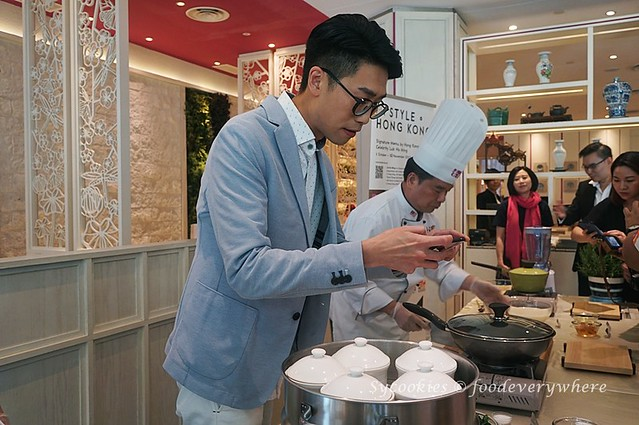3.Cooking Demonstration with In Style Hong Kong (Hong Kong Trade Development Council) by Hong Kong Celebrity, Luk Ho Miing