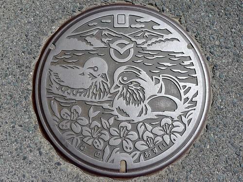 Hino Tottori, manhole cover (鳥取県日野町のマンホール)