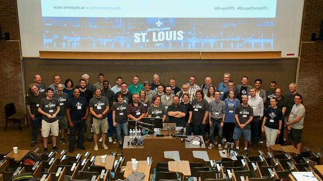 Drupal Camp St. Louis 2017 - All Participants Group Photo