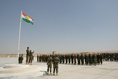 Kurdish military base in North Iraq