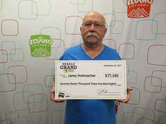 Leroy Hutmacher - $77,380.95 - Weekly Grand - Bonner Ferry - Cenex Zip Trip