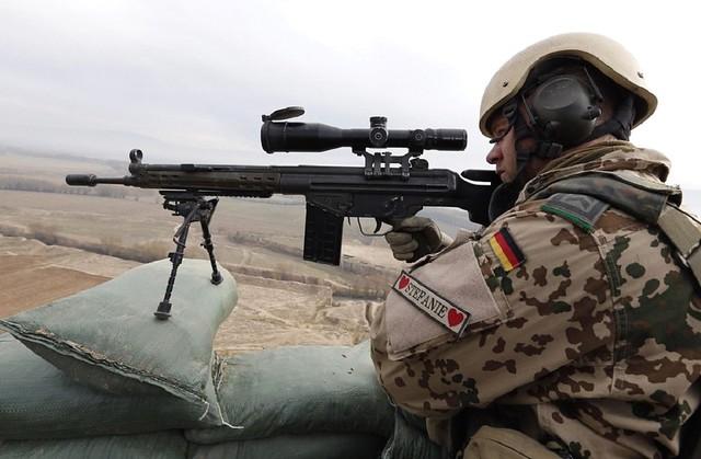 Άριστο παράδειγμα οικονομικής απόκτησης ικανού τυφεκίου Ακροβολιστή. Γερμανικό G3A3DMR στο Αφγανιστάν.