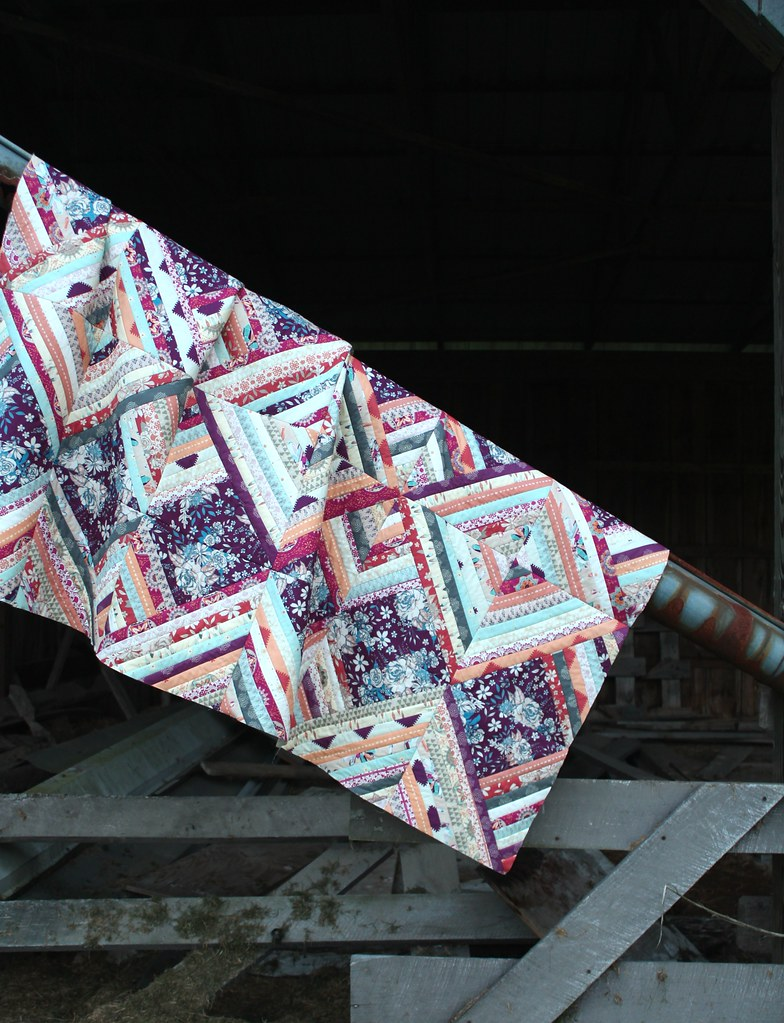 Soulful QAYG Quilt Top