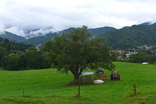 La vie rurale dans les montagnes