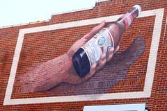 3D Budweiser Mural - Beale St. - Memphis