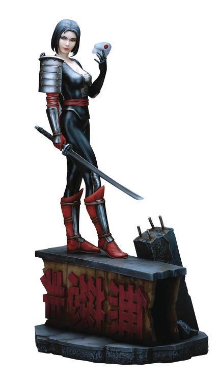 Yamato USA – DC Comics 系列【自殺突擊隊:武士刀】Katana 1/6 比例全身雕像作品