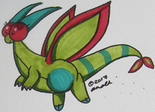 8.8.17 - Flygon from Memory