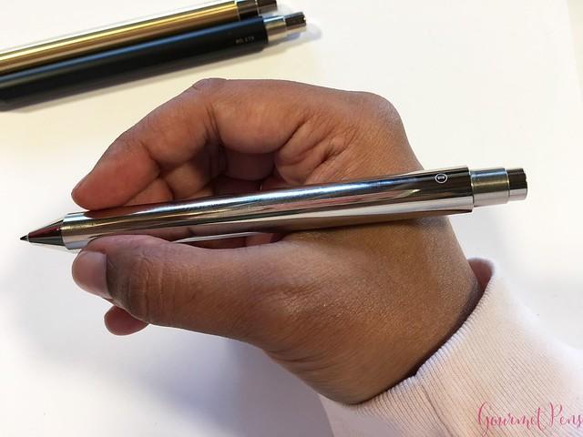 Review @InventeryCo Mechanical Pens - Brass, Chrome, Onyx 10