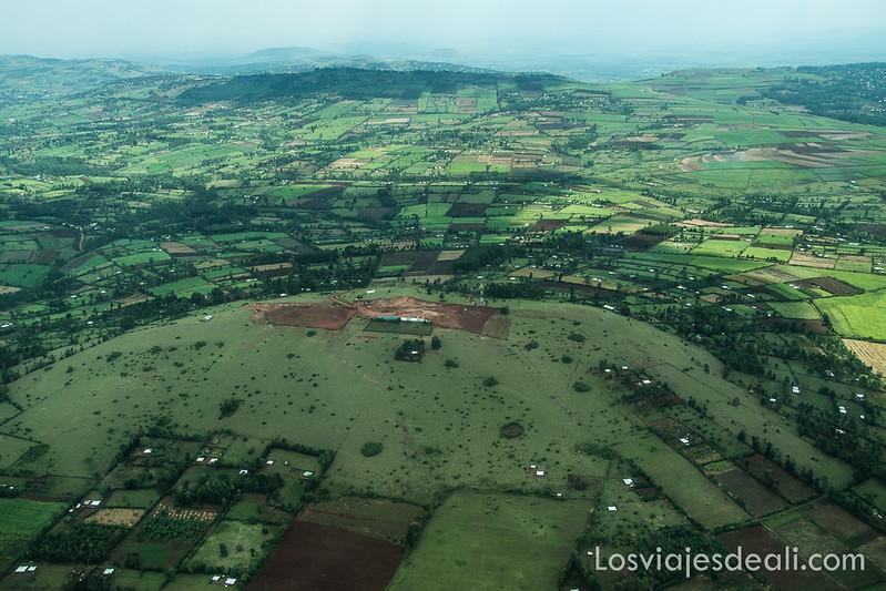 tierras verdes junto a Masai Mara