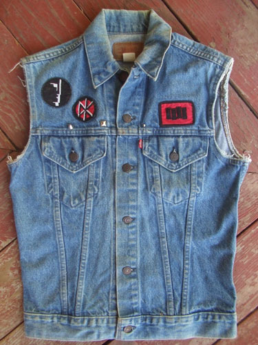 My old jean jacket (front)
