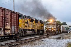 NS 9342 | GE C44-9W | NS Harris Yard