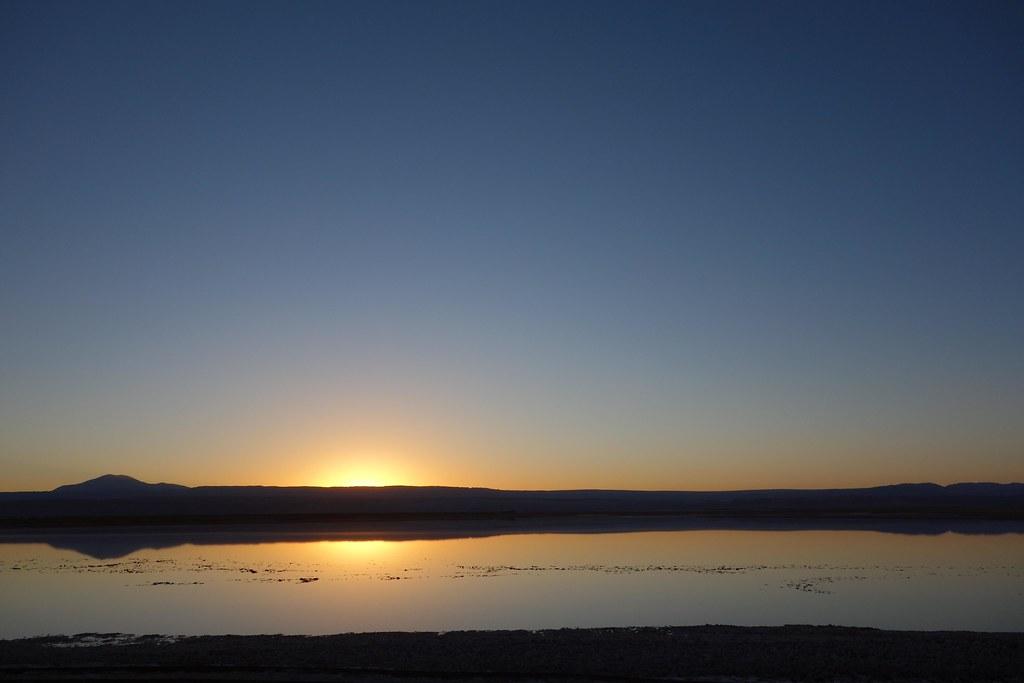 San Pedro Atacama - Laguna Tebequinche - Sunset